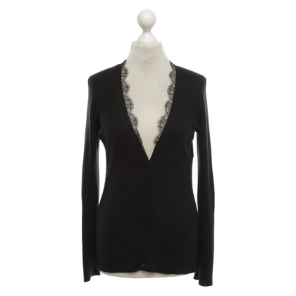 Christian Dior Cardigan with lace trim