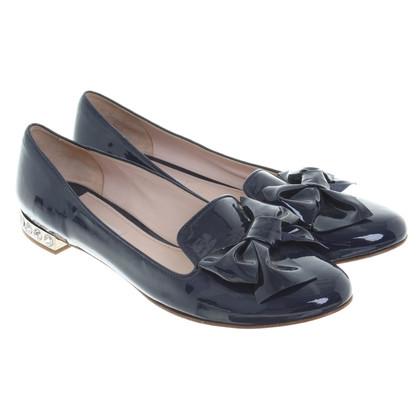 Miu Miu Ballerina's patent leather