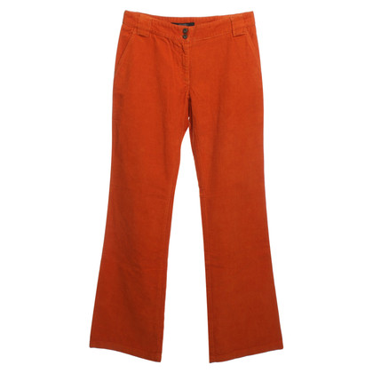 Max Mara Pantaloni Cord a Orange