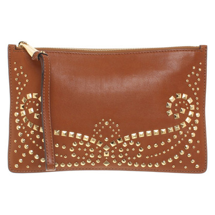 Michael Kors clutch with rivets