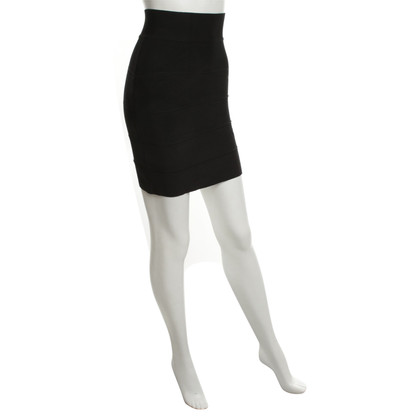 Hervé Léger skirt in black