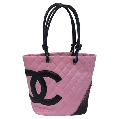 """Chanel """"Ligne Cambon"""" rosa borsa"""