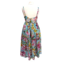 Blumarine Pinafore dress made of silk