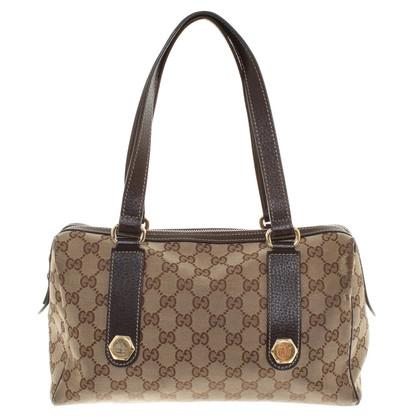 Gucci Handbag in brown / beige