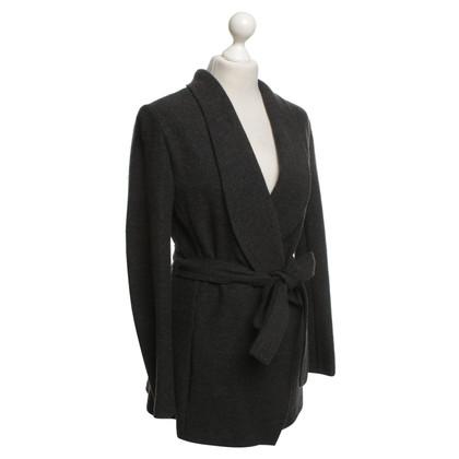 René Lezard Jacket in dark gray