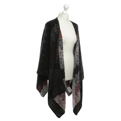 Missoni Cape with knitting patterns