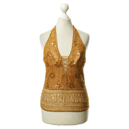 La Perla Top with beads & sequins
