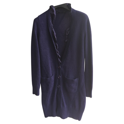Moschino Love Cardigan in viola