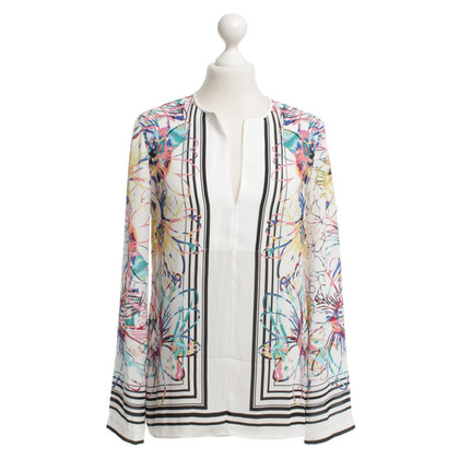 BCBG Max Azria Blouse with floral print