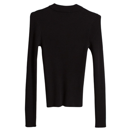 Carven Long sleeve top in ribbed look