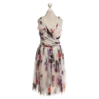 Dolce & Gabbana Kleid mit Blumen-Motiv