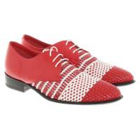 Céline Chaussures à lacets en bicolore