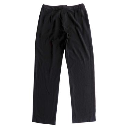 Chanel Pantaloni di lana nera