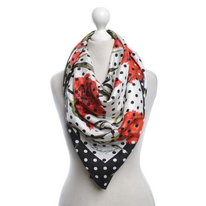 Dolce & Gabbana Tuch mit floralem Muster