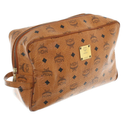 MCM Beauty-Case mit Monogram-Muster
