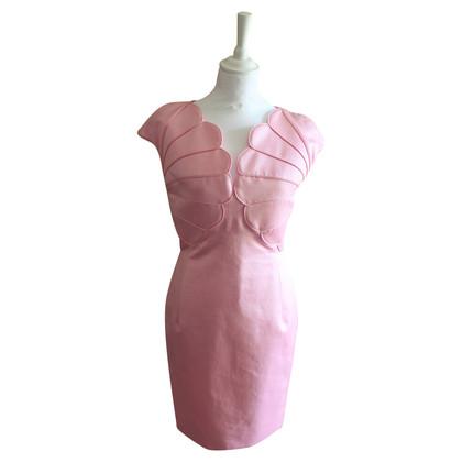 Valentino Dress in vintage pink silk