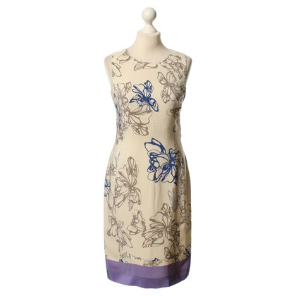 Hugo Boss Printed silk dress