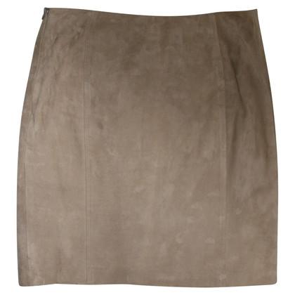 Ralph Lauren Miniskirt in lambskin leather