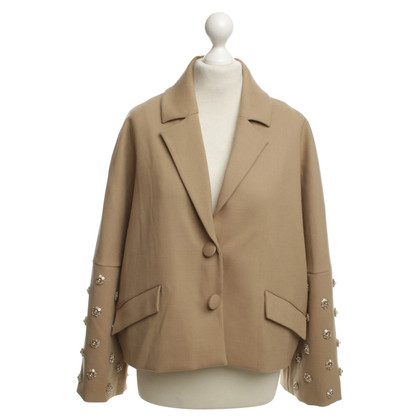 Manoush Oversize-Blazer in Beige