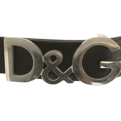D&G Gürtel in Schwarz