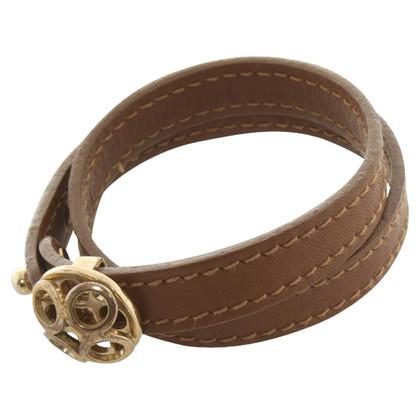 Rena Lange Cinturino in pelle in marrone