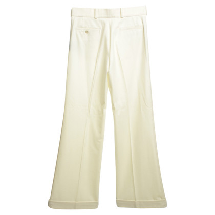 Ralph Lauren Wollen broek in crème