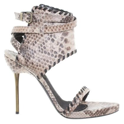Plein Sud High Heels Python leather
