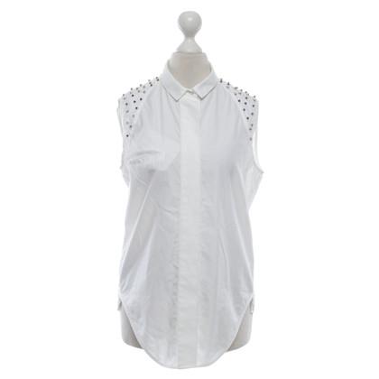 Sandro top in white