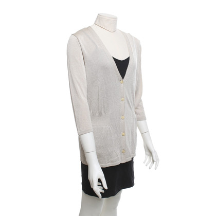 Escada Cardigan in beige / gold