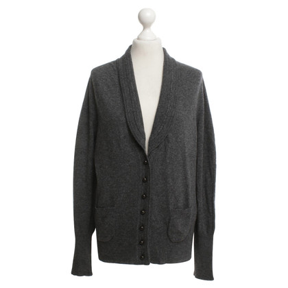 Max Mara Graue Strickjacke