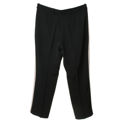 Diane von Furstenberg Black pants with details in nude