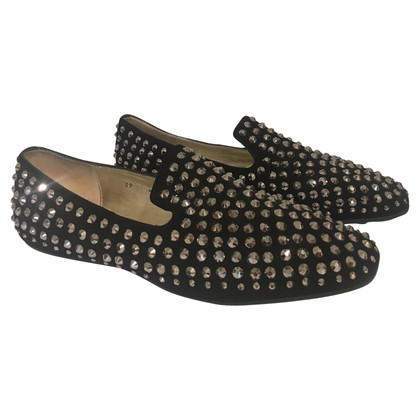 Jimmy Choo Ballerinas with rivets