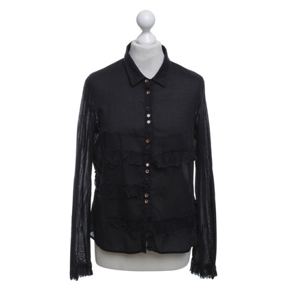 Marithé et Francois Girbaud Blouse in dark blue