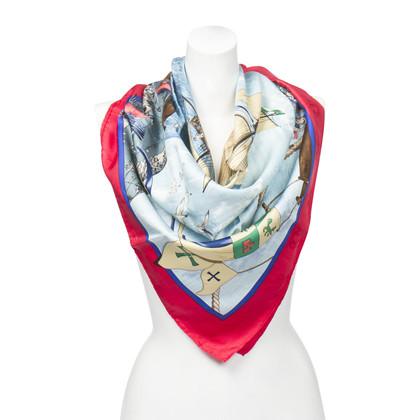 "Hermès Silk scarf ""Christopher Columbus"""