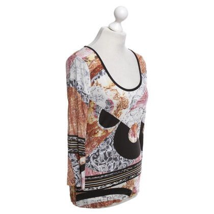 Just Cavalli top with graphic print
