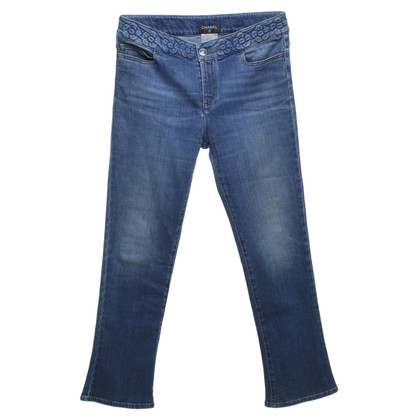 Chanel Jeans im Used-Look