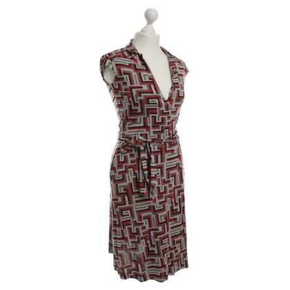 Diane von Furstenberg Print wrap dress