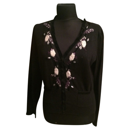 Hugo Boss embroidered Cardigan