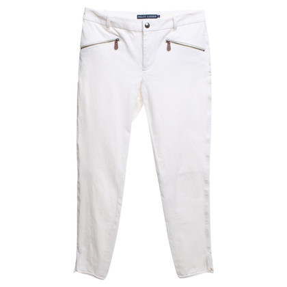 Ralph Lauren Broek in White