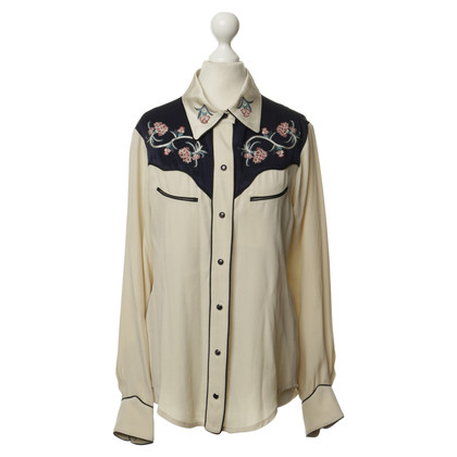 Isabel Marant Blusa in stile occidentale