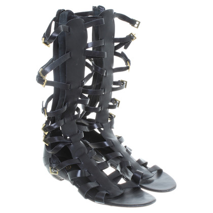 Ash Gladiator sandals in black