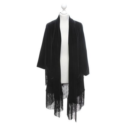 Other Designer Irié - long velvet jacket
