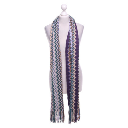 Missoni Scarf with pattern
