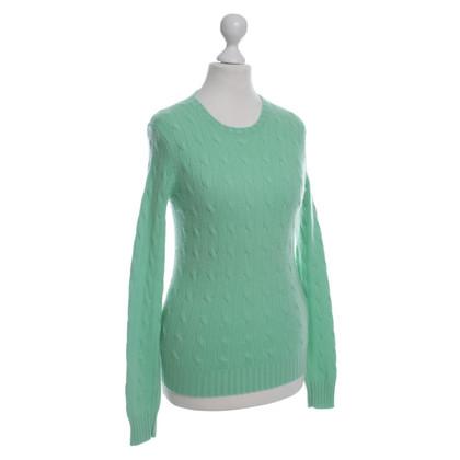 Ralph Lauren Maglione di cashmere in verde chiaro