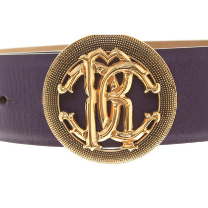 Roberto Cavalli Belt in purple