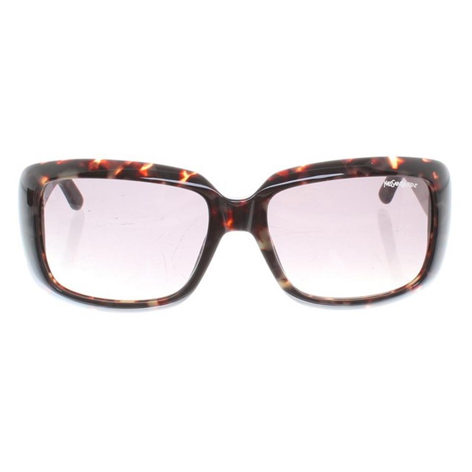 saint laurent lunettes de soleil avec motif acheter saint laurent lunettes de soleil avec. Black Bedroom Furniture Sets. Home Design Ideas