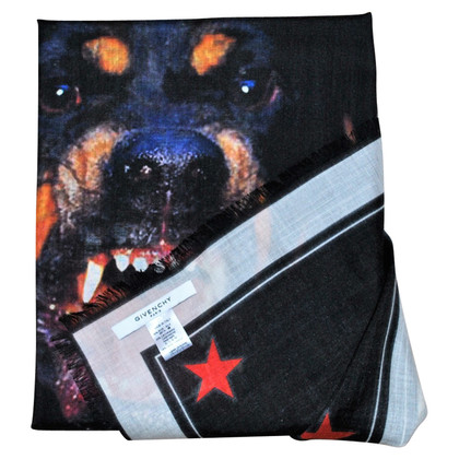 Givenchy GIVENCHY Rottweiler afdrukken sjaal