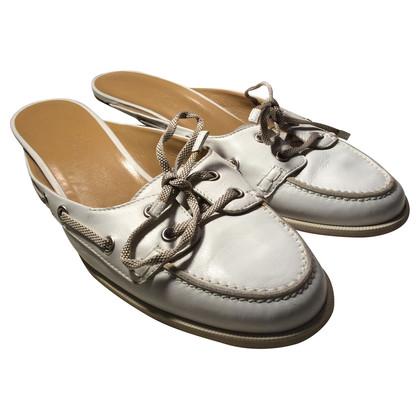 Hermès Muli in bianco