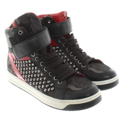 Prada Sneakers mit Keilabsatz