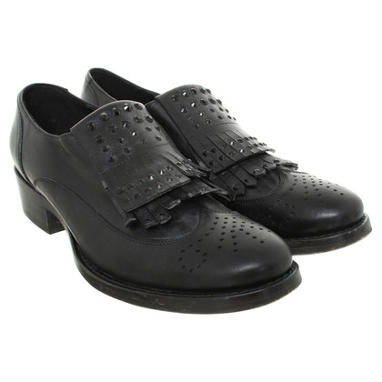 Ermanno Scervino Leather shoes in black